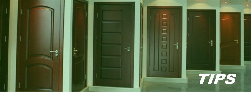 binnendeur hout glas PVC TIPS