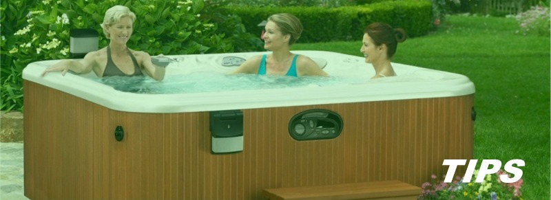 Jacuzzi whirlpool hot tub in uw tuin TIPS