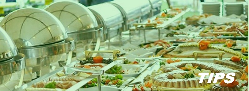 catering warm koud buffet TIPS