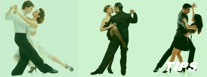dansen samba tango salsa TIPS