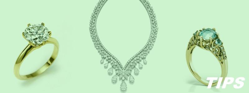 juwelen sierraden ringen halsketting TIPS