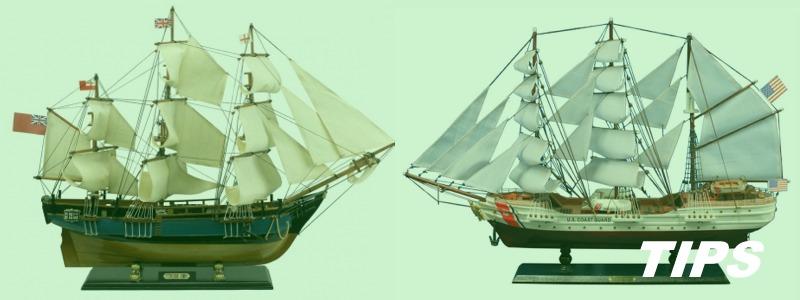 modelbouw zeilschip zeilbootboten vrachtwagens TIPS