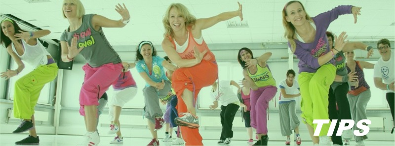sport fitness zumba aerobics TIPS