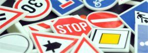 Rijschool rijbewijs verkeersborden TIPS
