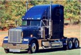 amerikaanse truck trekker vrachtwagen