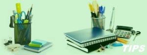 kantoorartikelen en kantoormateriaal TIPS