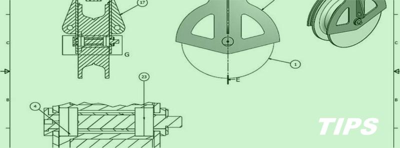 technisch tekenen CAD autocad TIPS