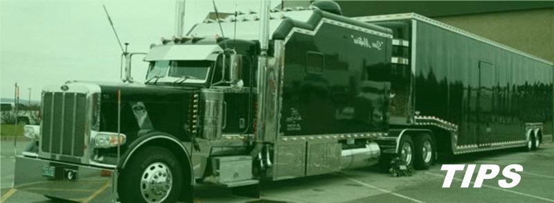 vrachtwagen trekker oplegger TIPS