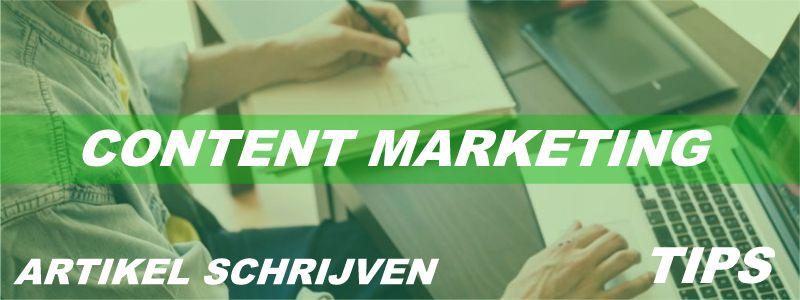 Content marketing - 5 TIPS voor het schrijven van een succesvol artikel