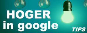 Hoger scoren in Google zoekmachines TIPS