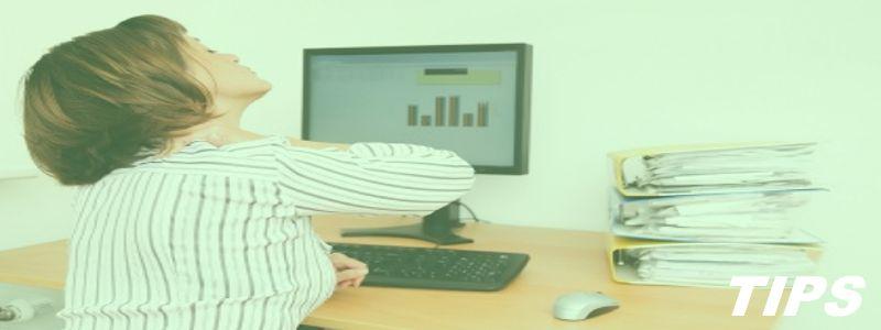 5000+ TIPS - Ergonomie - hoe nekpijn verminderen door zithouding